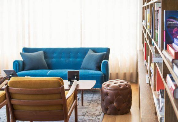 1960s mod vintage apartment
