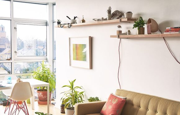 Ideas for compact city flats: Space-saving solutions