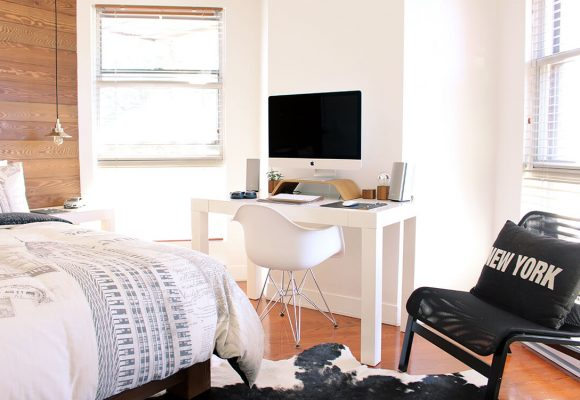Six best ideas to create home offices in small spaces